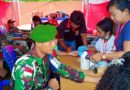 Donor Darah, Hingga Cross Boder Festival Disuguhkan oleh Satgas Pamtas Yonmek 521/DY