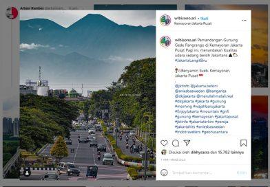 Dasar Netizen Foto Landscape Jalan Benyamin Sueb Jakartapun Digoreng