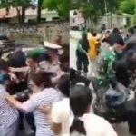 Paspampres Terjatuh | Selama Kunjungan di Maumere Presiden Jokowi Diserbu Ribuan Masyarakat di Sana