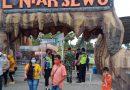 Polsek Menganti Edukasi Prokes Pengunjung Edu Wisata Lontar Sewu