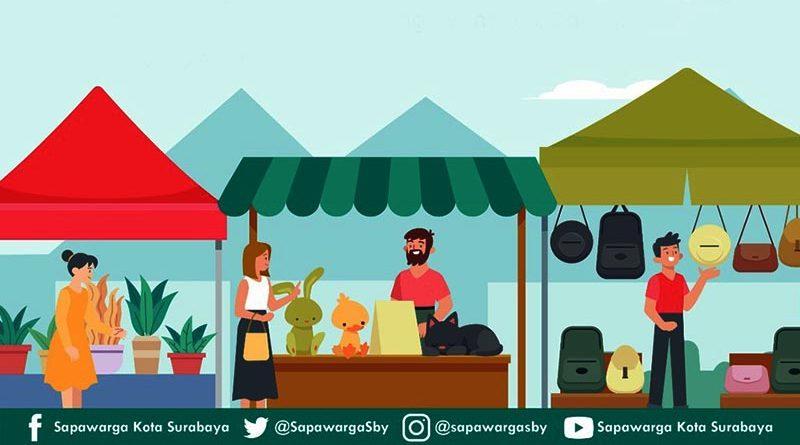 Info Operasi Pasar Bahan Pokok Surabaya Selasa 4 Mei 2021