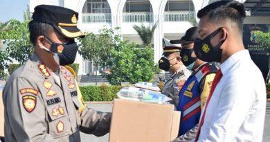 Anggota Polri dan ASN di Lingkup Polresta Sidoarjo Dapat Paket Kesehatan