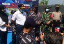 Dan Lantamal Tinjau vaksinasi di Perum TNI AL Candi Sidoarjo, Didampingi Anggota Komisi II DPR RI
