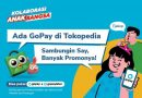 Kini GoPay Telah Resmi Terintegrasi di Tokopedia